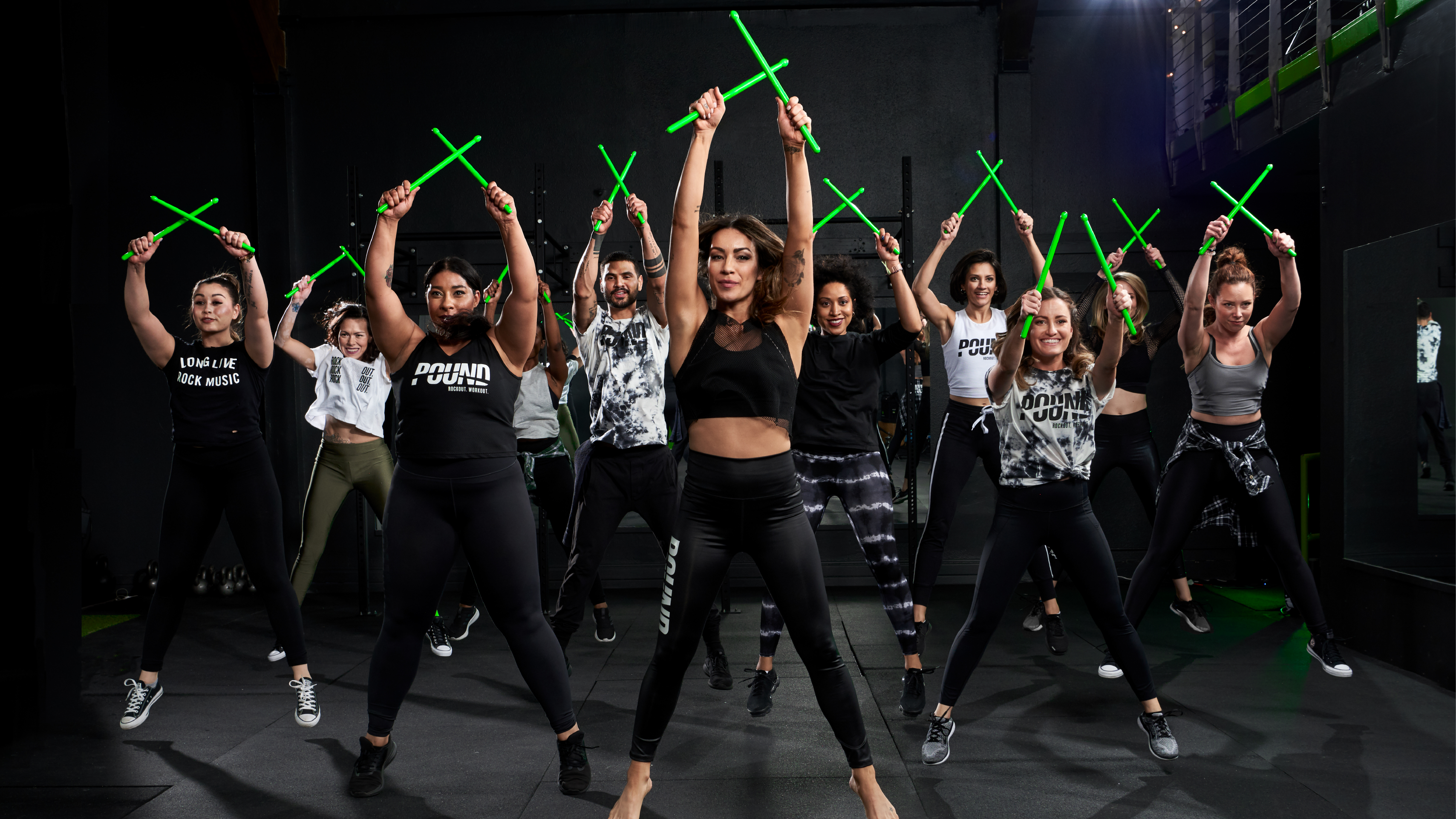GET READY TO ROCK OUT AND WORK OUT WITH POUND®!